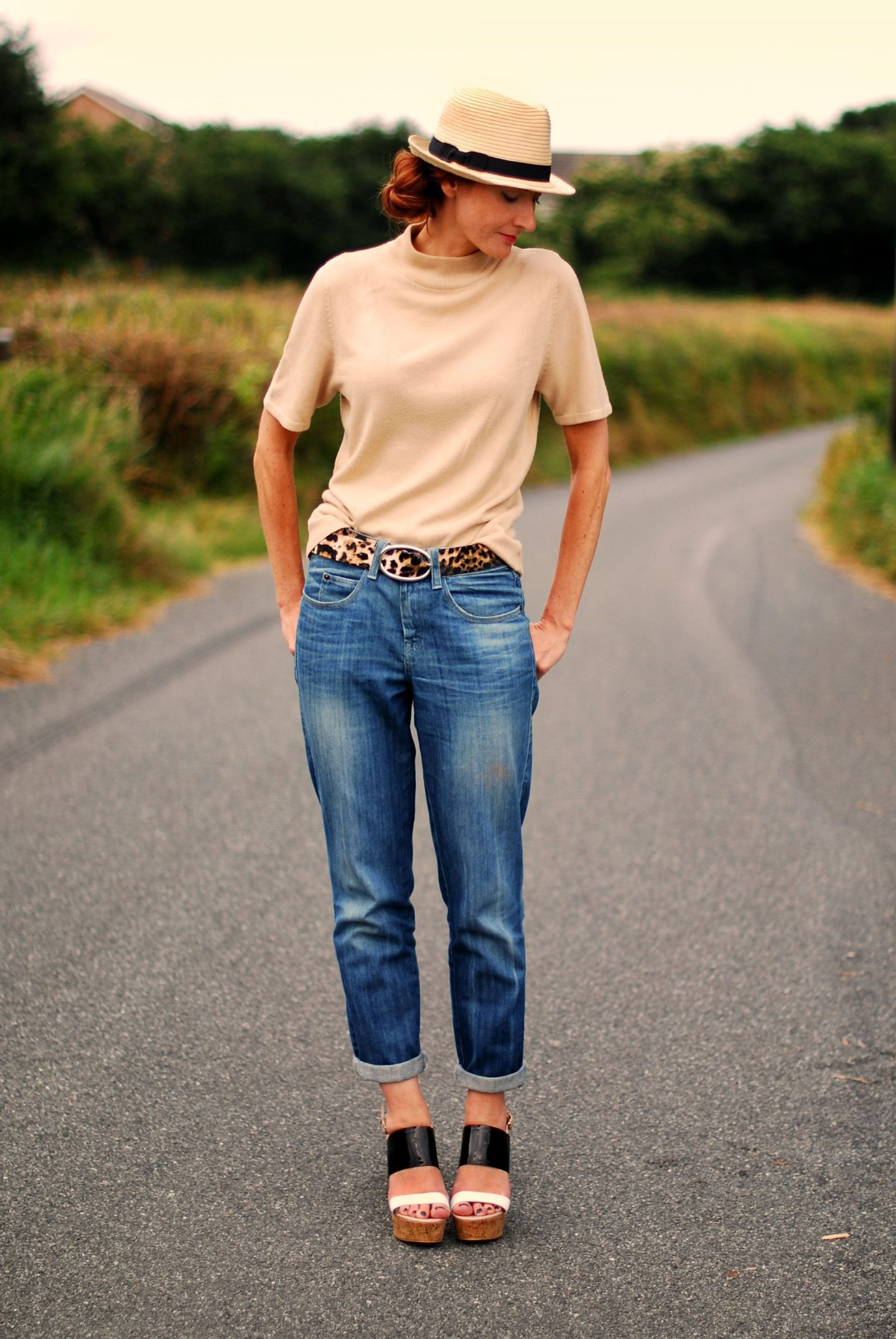 How To Dress Up Boyfriend Jeans (Yet Remain Casual)