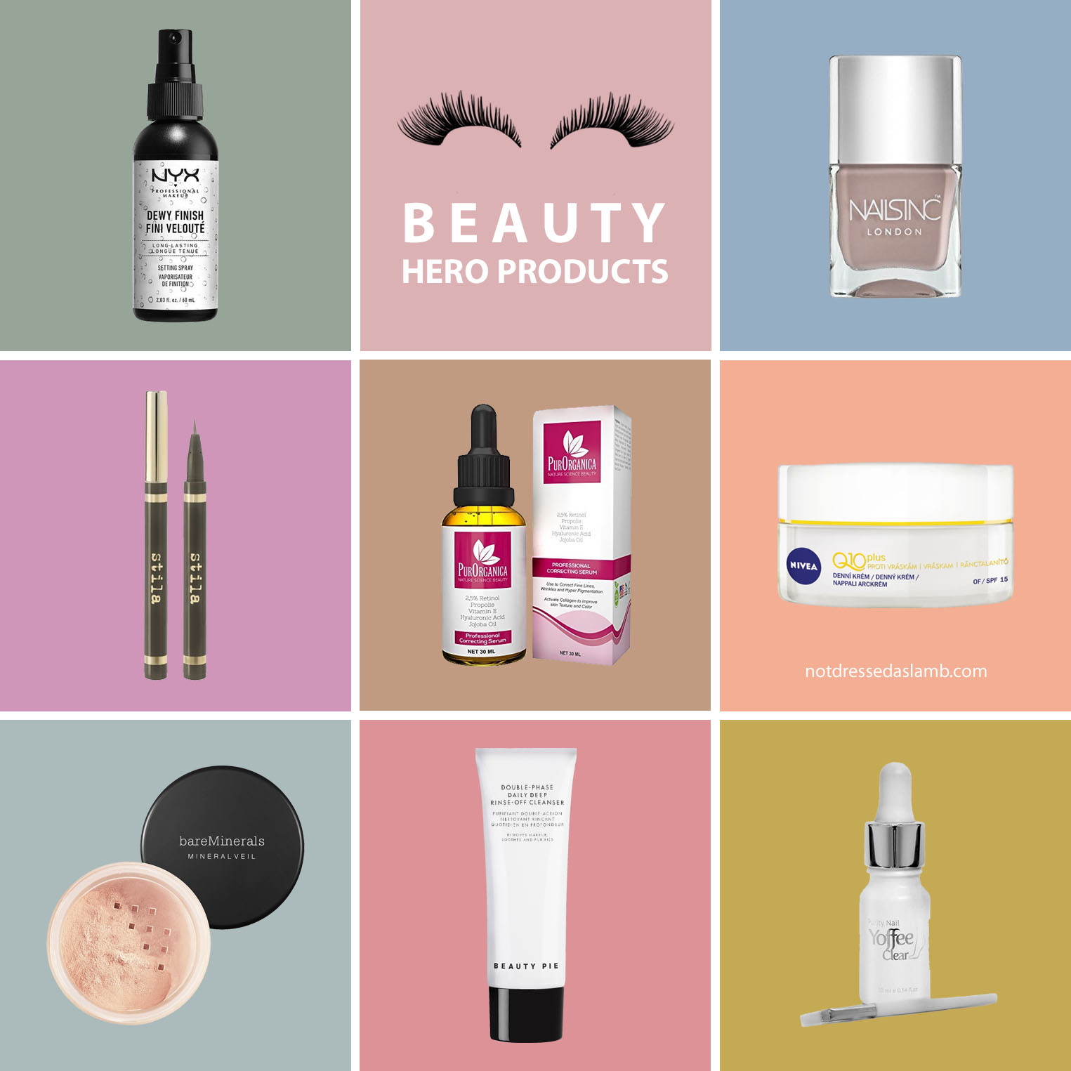 My Top 7 Hero Beauty Products for Over 40 Women
