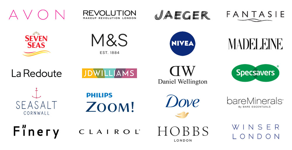 Brands worked with - Not Dressed As Lamb