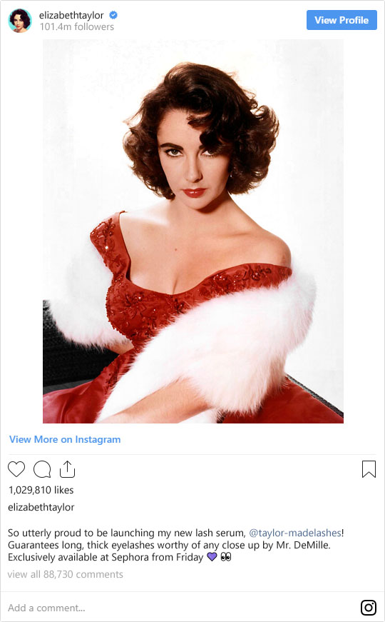 If Legendary Old Hollywood Stars Were on Instagram Today... | Not Dressed As Lamb