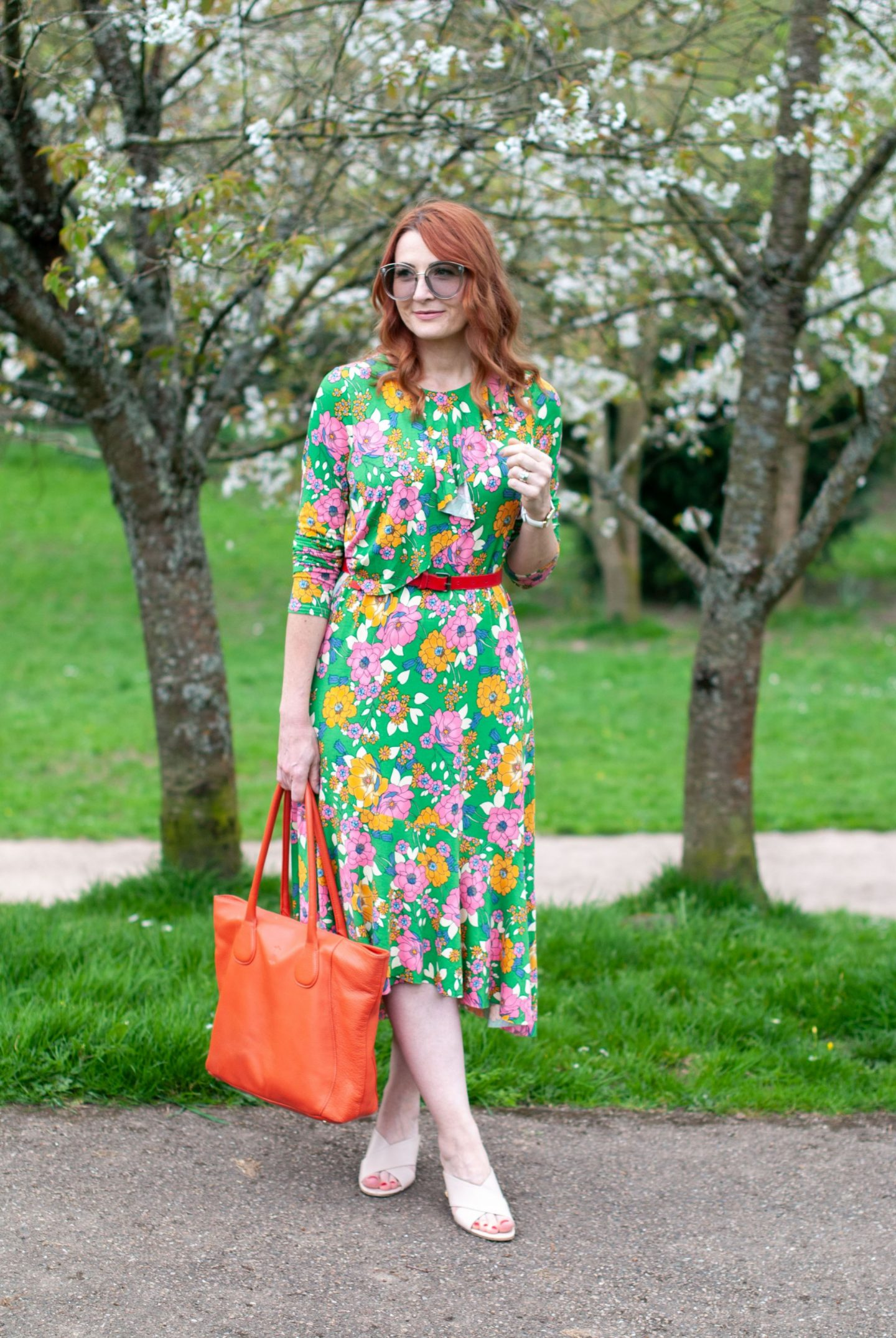 My All Time Favourite Summer Outfits: Floral asymmetric dress | Not Dressed As Lamb