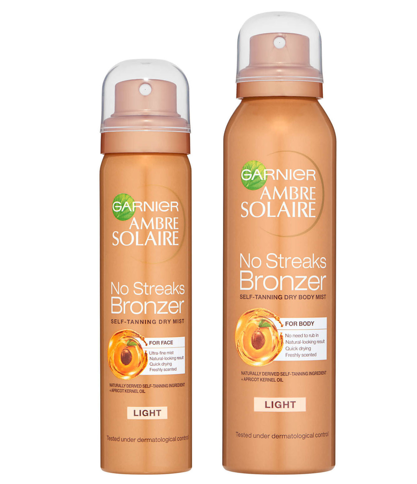 Garnier Ambre Solaire Summer Body and No Streaks Bronzer Self Tan