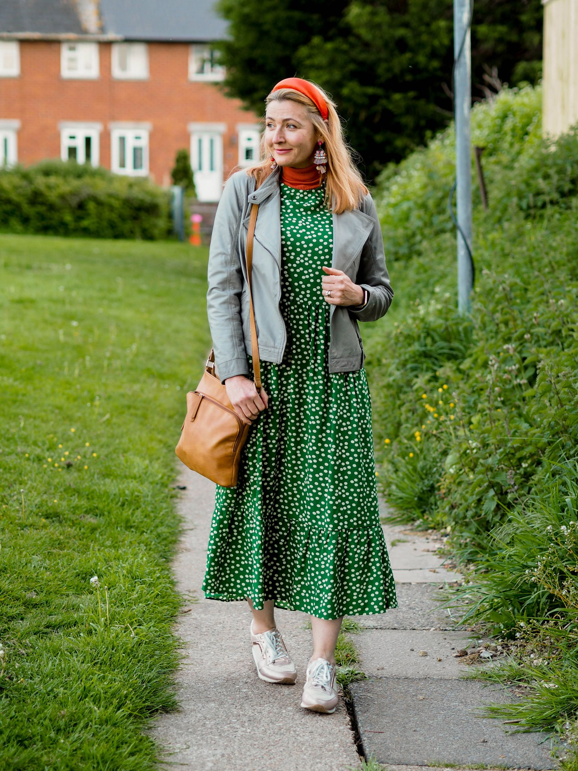 A Maxi Dress With Trainers. A Cliché